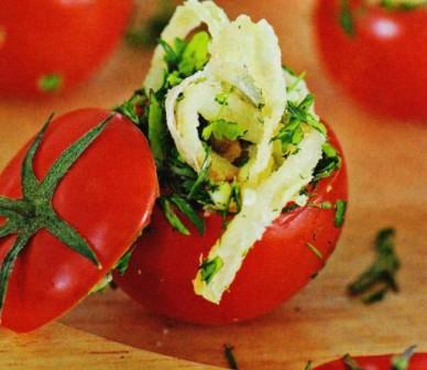фаршированные помидоры   по Узбекски