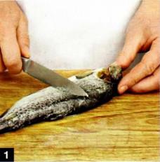 как вкусно приготовить форель,как приготовить стейк +из форели