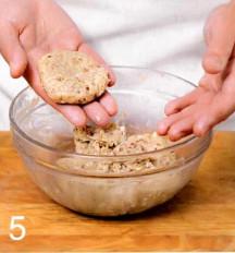 домашнее печенье +из овсяных хлопьев