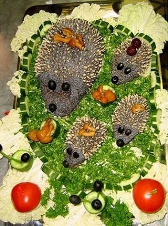 Рецепты салата гранатовое кольцо