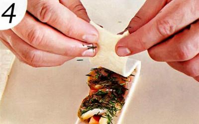 Блюда с картошкой и говядиной в фольге