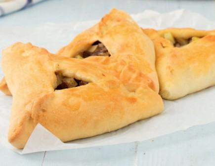 Татарский пирог Эчпочмак