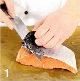 Готовим красную рыбу быстрой засолки,засоленая красная рыба